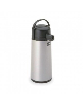Thermos à café en acier inoxydable à bouton pressoir 2,2 L