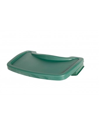 Tablette pour chaise haute - verte