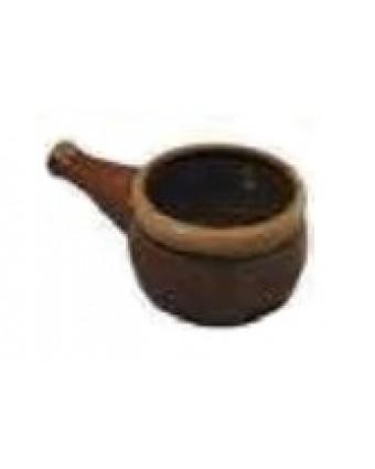 Bol a à soupe à l'oignon en céramique 12 oz - Brun