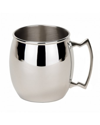Mug mule en acier inoxydable 16 oz