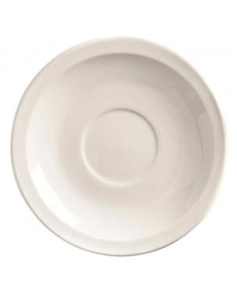 "Soucoupe ronde 4,75"" - Porcelana"