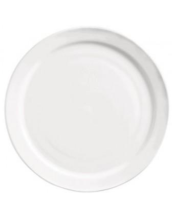"""Assiette ronde à bord étroit 6,5"""" - Porcelana"""