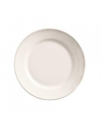 """Assiette ronde à bord large 6,25"""" - Porcelana"""