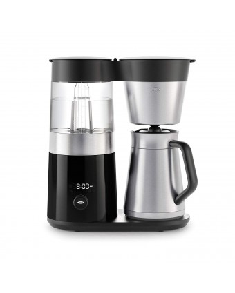 Machine à café filtre 9 tasses – Noir et acier inoxydable