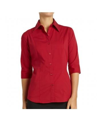 Chemise pour femme très grand Havana - Framboise