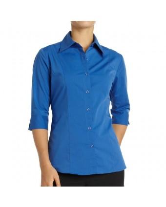 Chemise pour femme grand Havana - Bleu français
