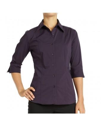 Chemise pour femme petit Havana - Aubergine