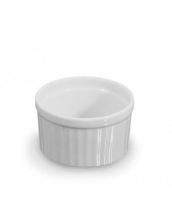 Ramequin rond en porcelaine 3 oz