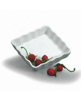 """Moule à quiche ou à tarte en porcelaine 4,5"""""""