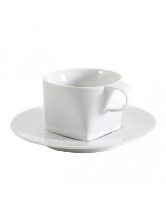Tasse à cappuccino en porcelaine 7 oz avec soucoupe