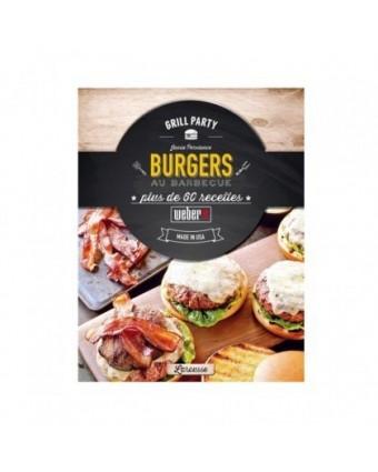 Livre de recettes de burgers sur le barbecue