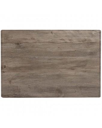 """Dessus de table rectangulaire 32"""" x 48"""" - Chêne vieilli"""