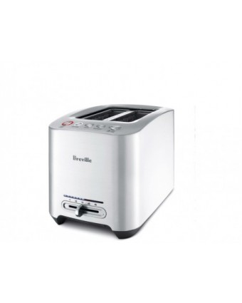 Grille-pain deux fentes Smart Toaster - Acier inoxydable