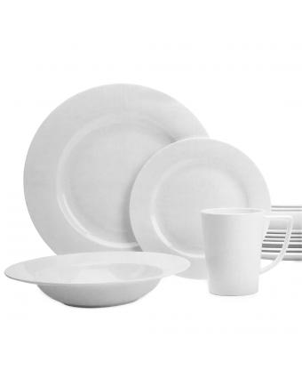 Ensemble de vaisselle seize pièces - Topia