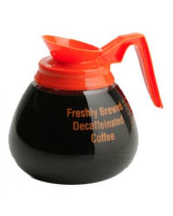 Verseuse en verre pour café décaféiné 60 oz