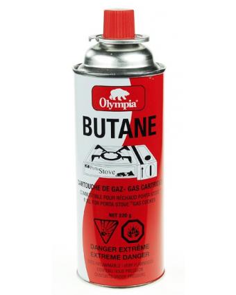 Cannette de Butane