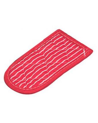 Manchon en coton pour poêle à frire - Rouge