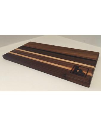 Planche de service en bois 16'' x 6''