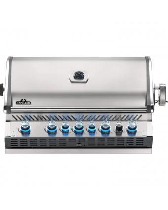 BBQ encastrable Prestige Pro 665 RB au propane - Acier inoxydable