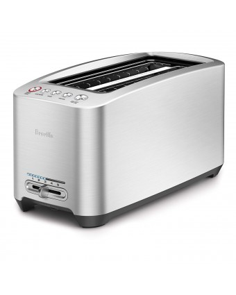 Grille-pain quatre tranches Smart Toaster - Acier inoxydable