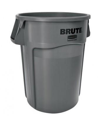 Poubelle Brute 37,9 L - Gris