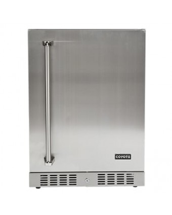 """Réfrigérateur d'extérieur 24"""" - Gauche"""