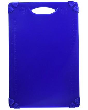 Planche à découper en polyéthylène 18'' x 12'' – Bleu