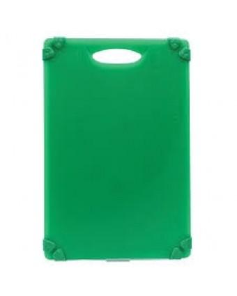 """Planche à découper en polyéthylène 18"""" x 12"""" - Vert"""
