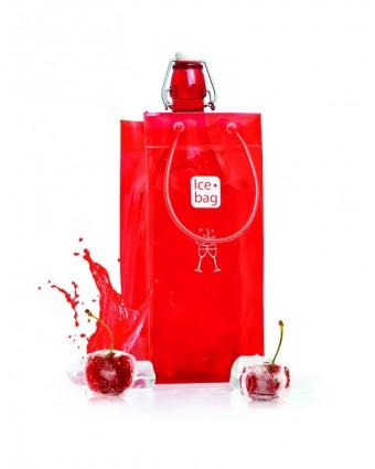 Sac pour bouteille Classic - Cerise