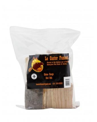 Morceaux de bois de chêne rouge - 2.5 lb