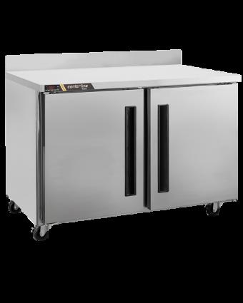 Réfrigérateur sous-comptoir deux portes pleines 13,3 pi³