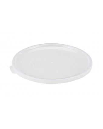 Couvercle pour récipients ronds 1,4 et 2,55 L - Blanc