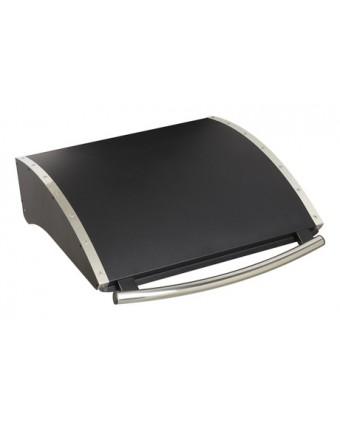 Couvercle en acier galvanisé noir pour Plancha à deux brûleurs