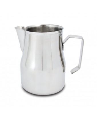 Pichet à mousser le lait en acier inoxydable - 15,5 oz