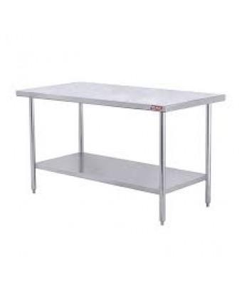 """Table de travail en acier inoxydable - 48"""" x 30"""" (démonstrateur)"""