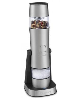 Moulin à sel, poivre et épices rechargeable