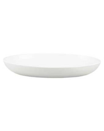 "Assiette creuse ovale 10,5"" - Evo-Vit Pearl"
