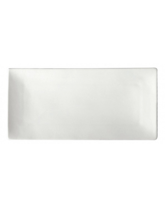 Assiette de service rectangulaire 13'' x 6,25'' - Bright White Ware