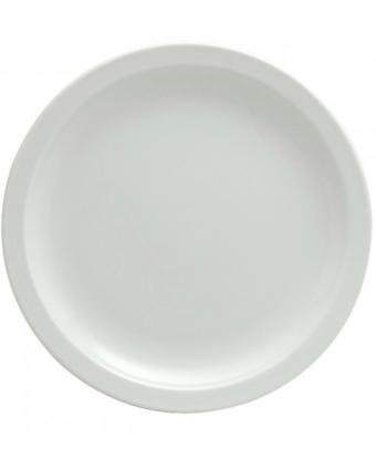 """Assiette ronde 8,25"""" - Bright White Ware"""