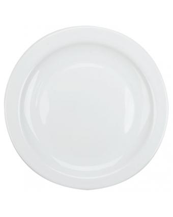 "Assiette ronde 7,5"" - Opal Restaurant White"