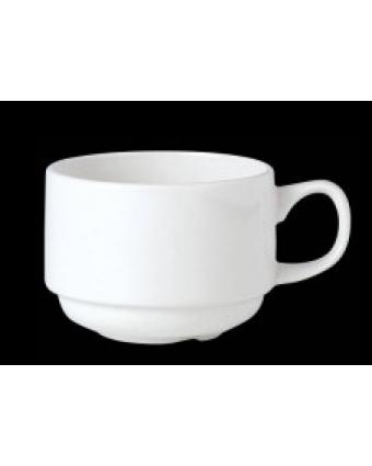 Tasse empilable en porcelaine d'alumine vitrifiée 3,5 oz - Simplicity