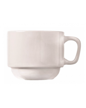 Tasse empilable en porcelaine 7 oz - Porcelana