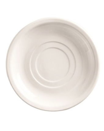 "Soucoupe ronde 6"" - Porcelana"