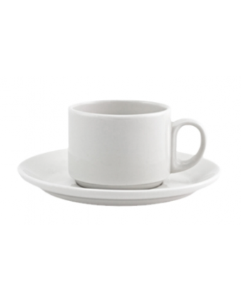 Tasse empilable en porcelaine 6,75 oz - Jupiter