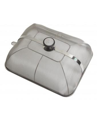 Cloche anti-éclaboussure en acier inoxydable pour Plancha