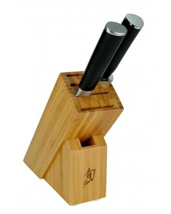Ensemble de couteaux trois pièces avec bloc - Classic