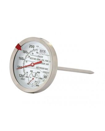 Thermomètre à viande et à volaille à cadran (120°F à 212°F)
