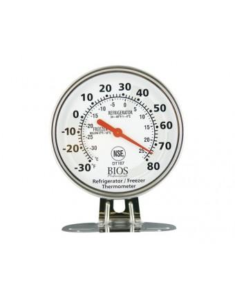 Thermomètre de réfrigérateur et congélateur à cadran
