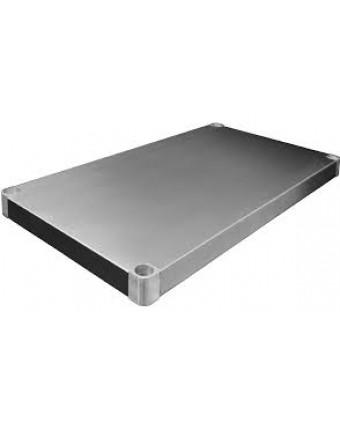 Tablette inférieure en acier inoxydable pour table de travail - 30'' x 72''