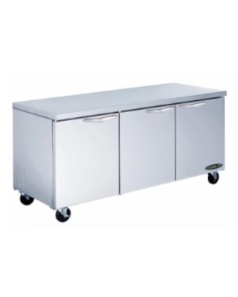 Réfrigérateur sous-comptoir trois portes 20,2 pi³